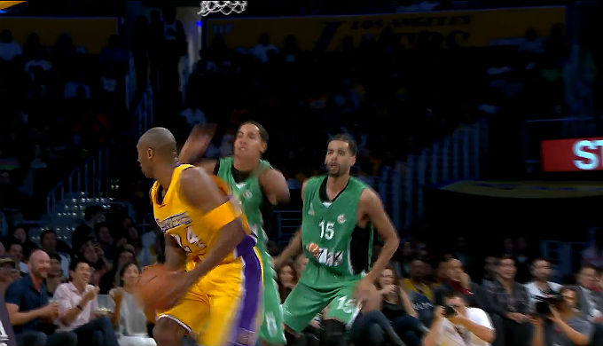LA Lakers Kobe Bryant