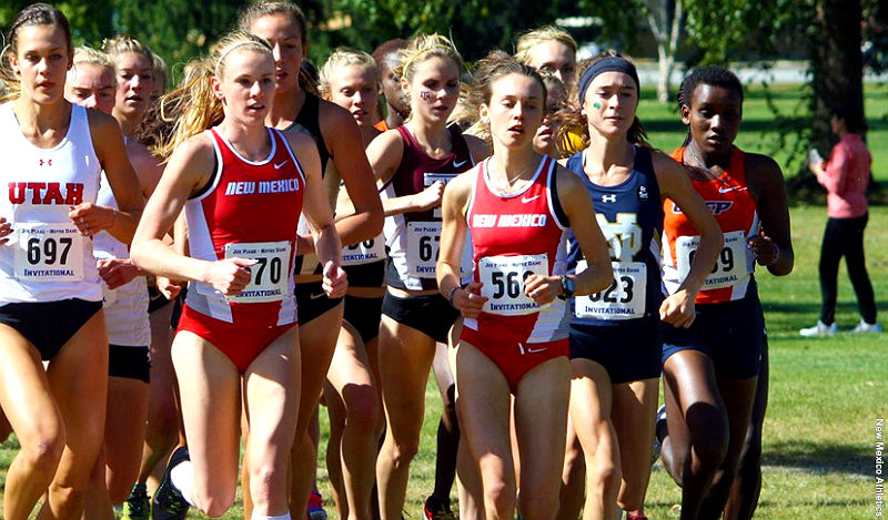 New Mexico women's cross country