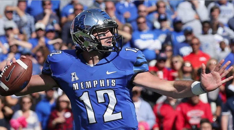 Paxton Lynch of Memphis