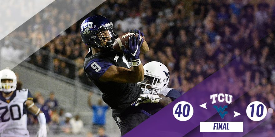 TCU college football score