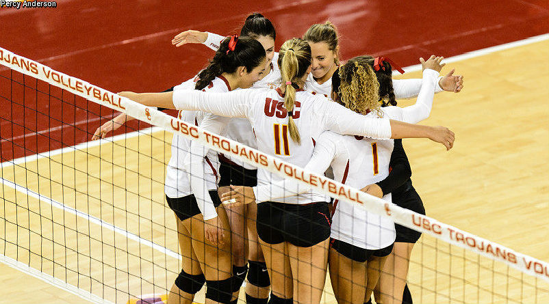 USC women's college volleyball