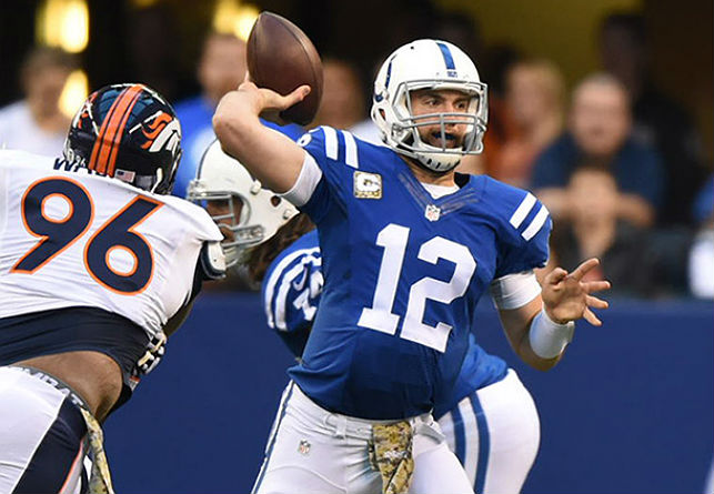 Andrew Luck of the Colts.