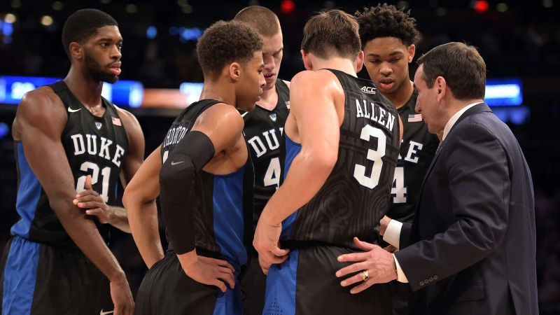 Duke NCAA college basketball scores