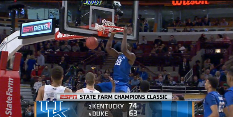 College Basketball Top 25 Scores