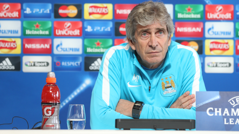 Manuel Pellegrini of Manchester City: Arsenal next