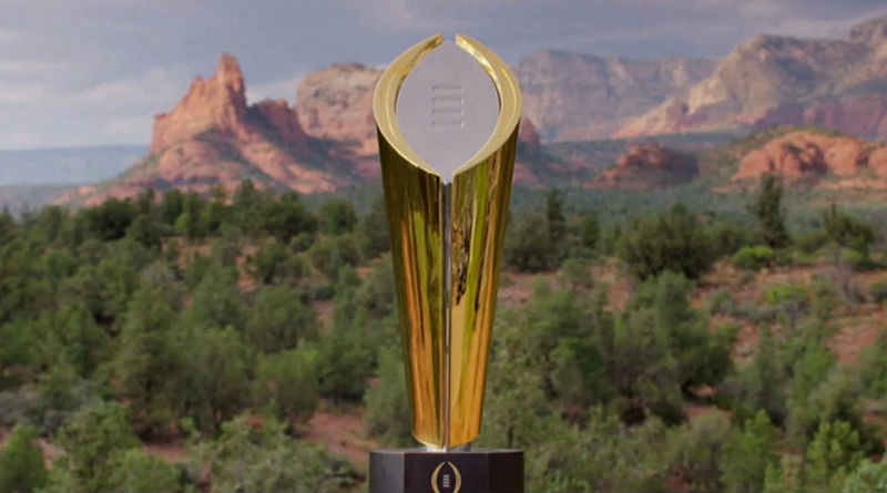 College Football Playoff Top 25 Rankings on Dec 1