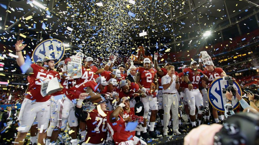 Alabama college football SEC title