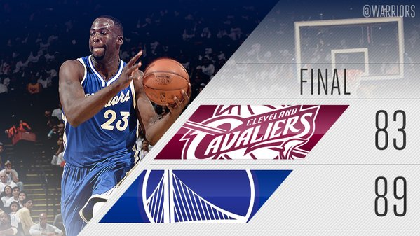 Golden State Warriors defeat the Cavaliers