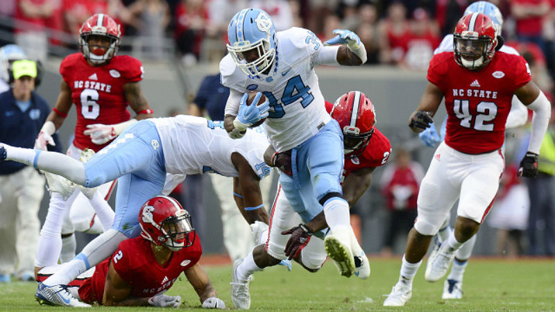ACC College Football: UNC Ready For No. 1 Clemson