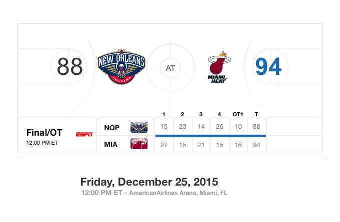 Miami Heat beat Pelicans