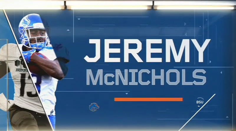 Jeremy McNichols in College Bowl