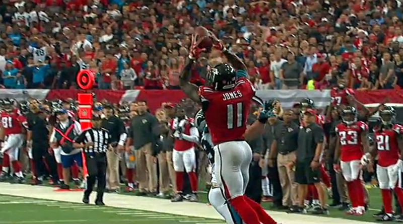 NFL Highlights: Falcons v Panthers Julio Jones