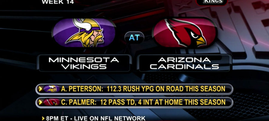 How To Watch Cardinals-Vikings NFL TNF: Dec. 10