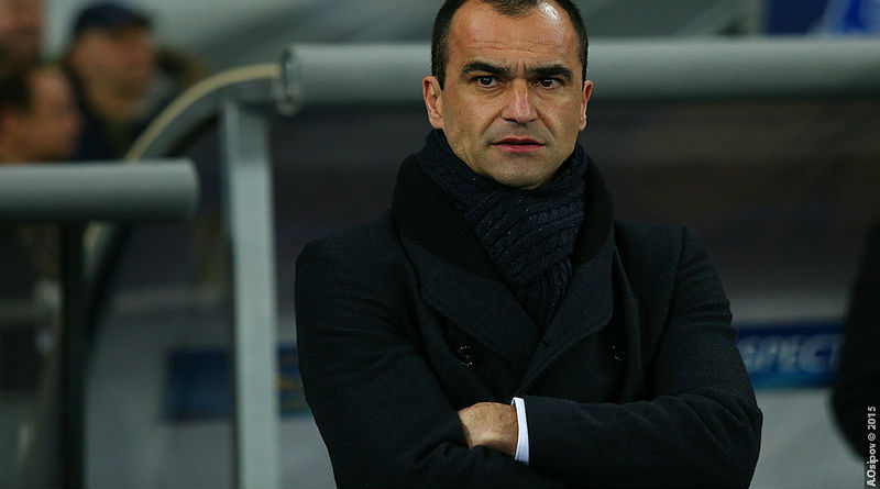 Roberto Martinez - Everton manager
