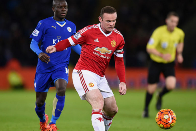 Wayne Rooney of Manchester United: English Premier League