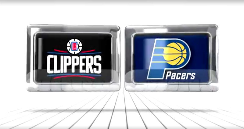 NBA Scores: LA Clippers beat Pacers