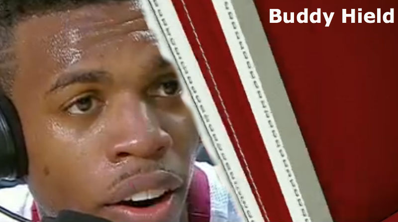 Buddy Hield of Oklahoma interviewed