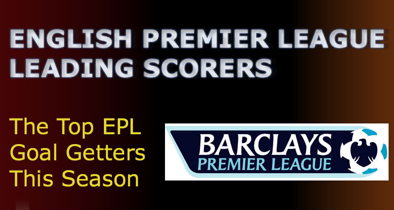 English Premier League Top Goalscorers
