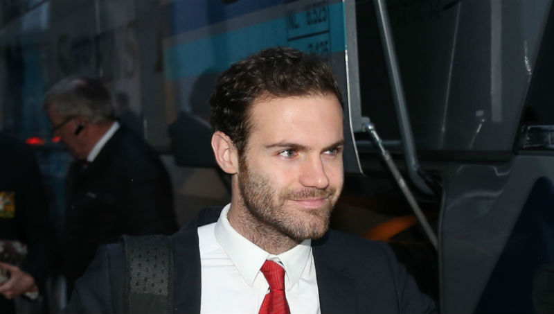 Juan Mata of Manchester United: Livescore available