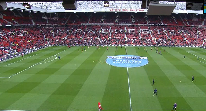 Manchester United v Arsenal at Old Trafford