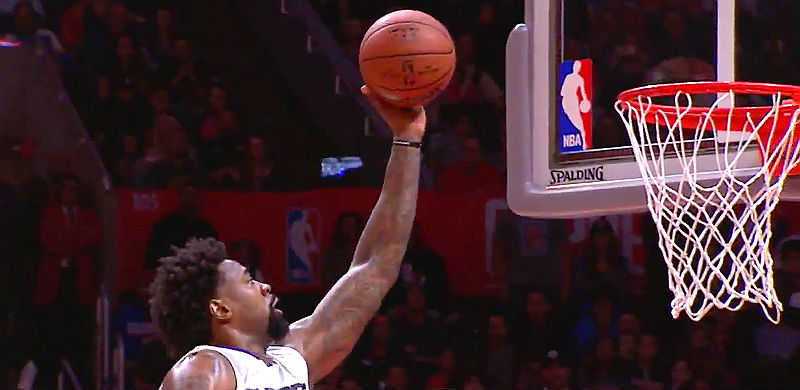 DeAndre Jordan of Los Angeles Clippers