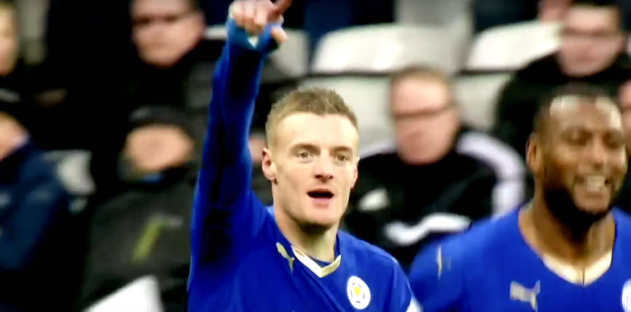 Vardy English Premier League leading goalscorers