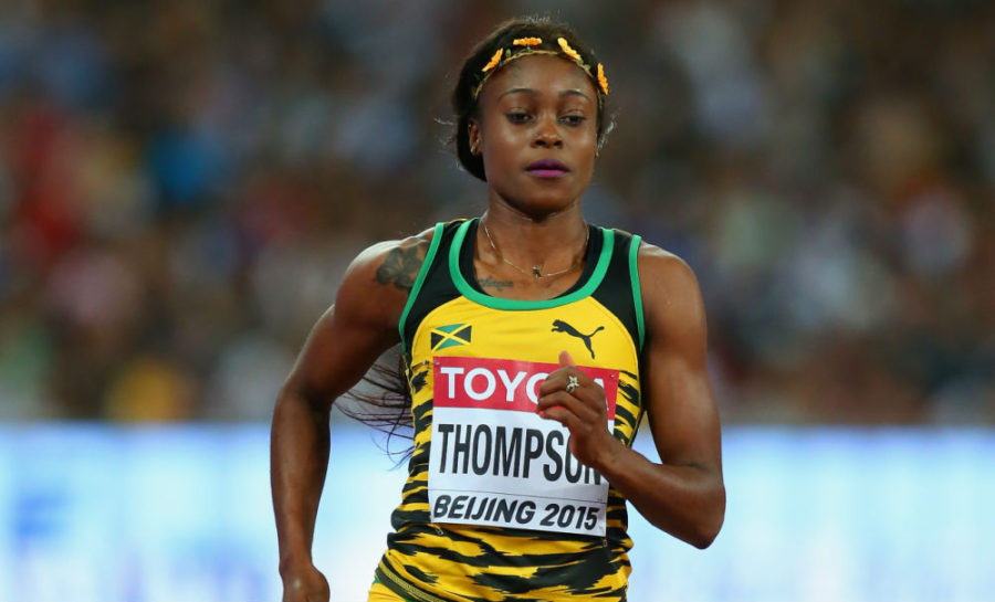 Elaine Thompson of Jamaica