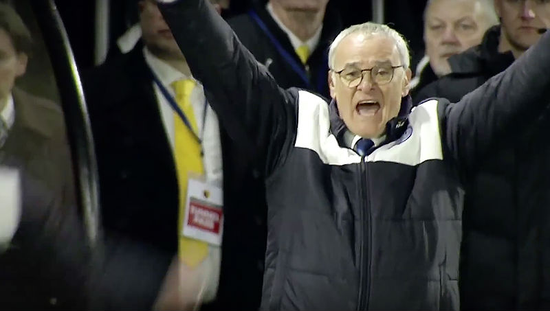 Claudio Ranieri: English Premier League Table Standings