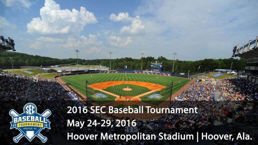 SEC Baseball Tournament Day 1 Schedule, Game Times