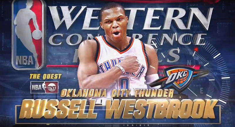 Golden State Warriors v Oklahoma City Thunder: Russell Westbrook