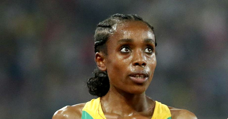 Ayana Short In WR Chase In Rome Diamond League