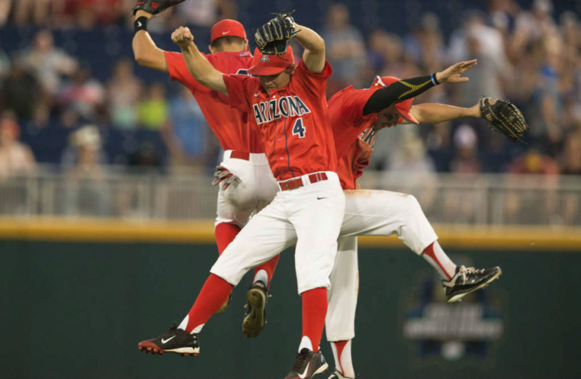 College World Series Scores, Eliminated Teams: June 22