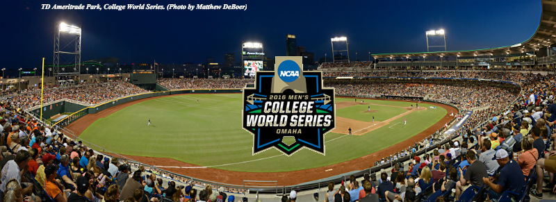 College World Series 2016 Team List, Brackets, TV Channels