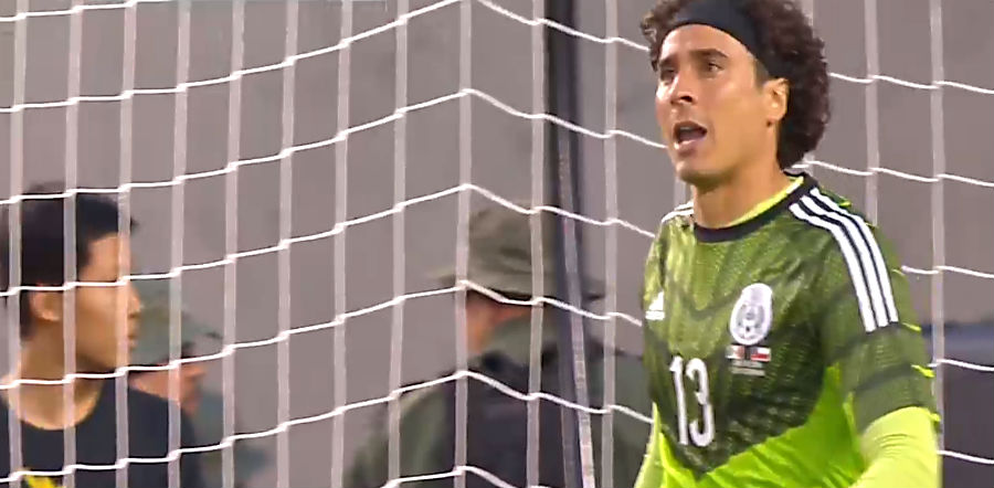 Guillermo Ochoa of Mexico Copa America