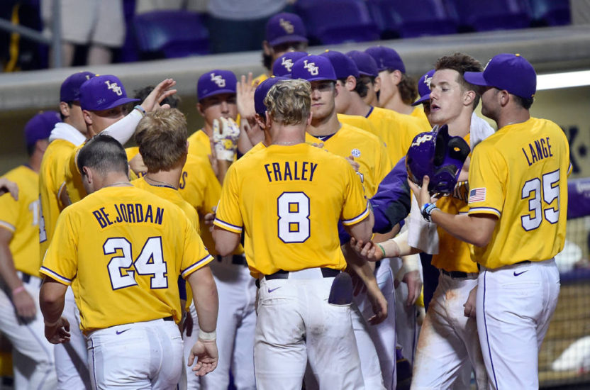 LSU ESPN3 NCAA Baseball Regionals