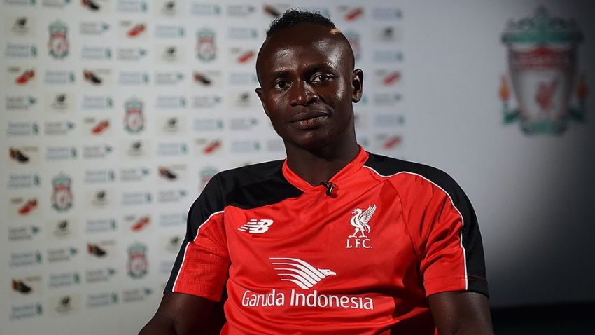 Sadio Mane Liverpool and Senegal
