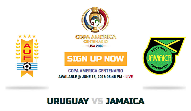 Jamaica v Uruguay TV Channels; Lineups