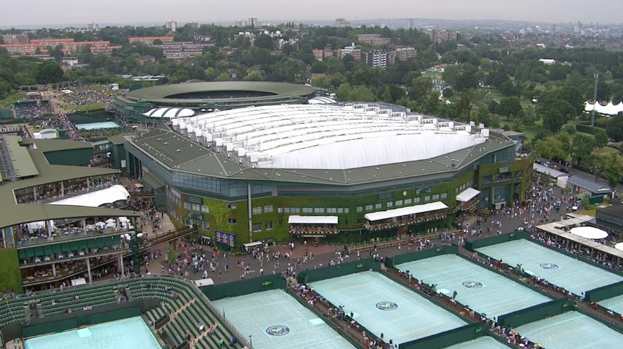 Wimbledon 2016 Centre Courts