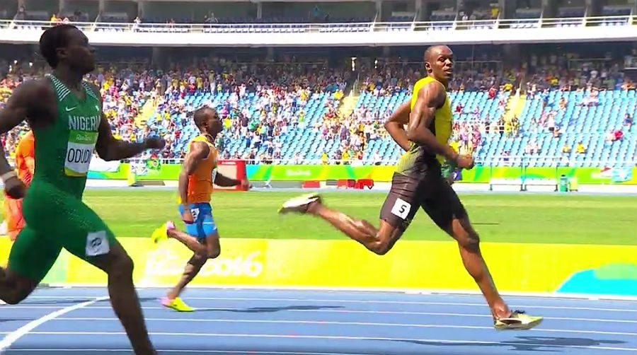 Usain Bolt at Rio 2016