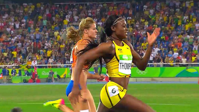 Elaine Thompson Completes Rio 2016 Double; Bolt Quickest In 200m