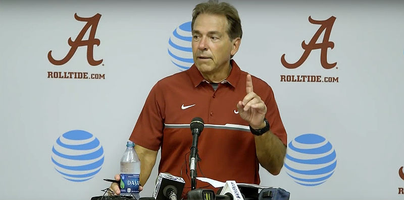Nick Saban: Associated Press college football Top 25 rankings