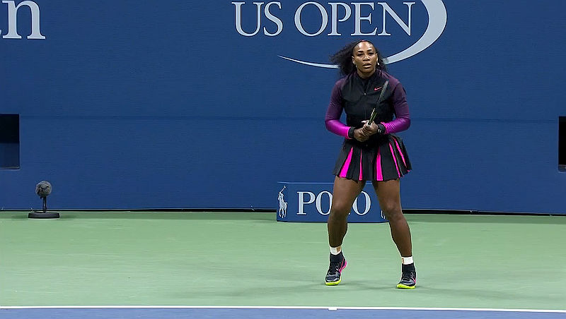 2016 US Open with Serena Williams