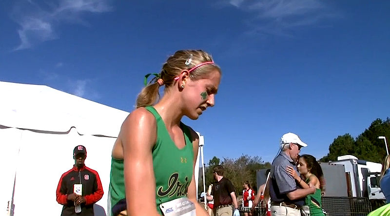 Anna Rohrer ACC Cross Country