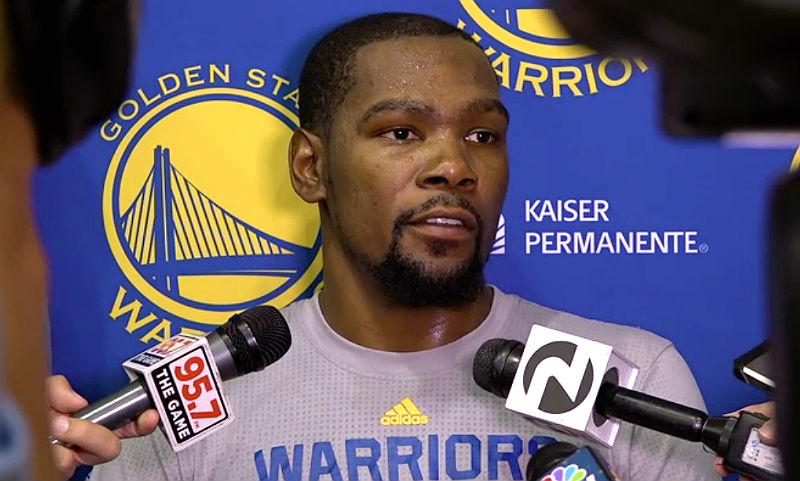 Kevin Durant: Golden State Warriors.