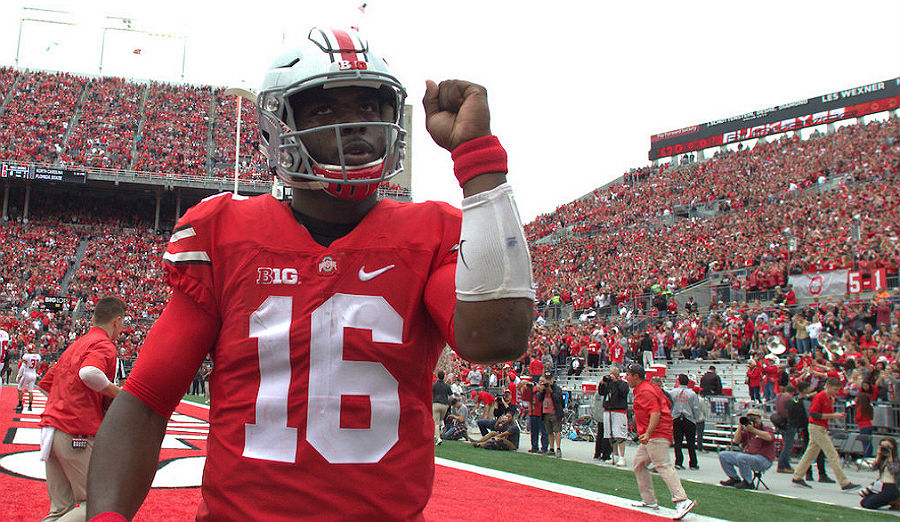 College Football Big Ten J.T. Barrett