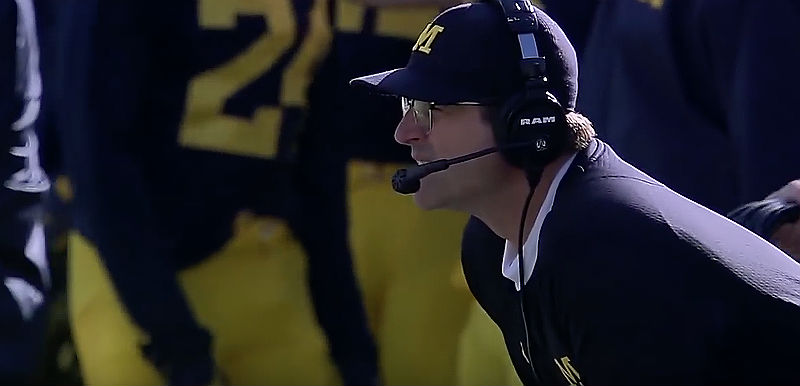 College Football Jim Harbaugh