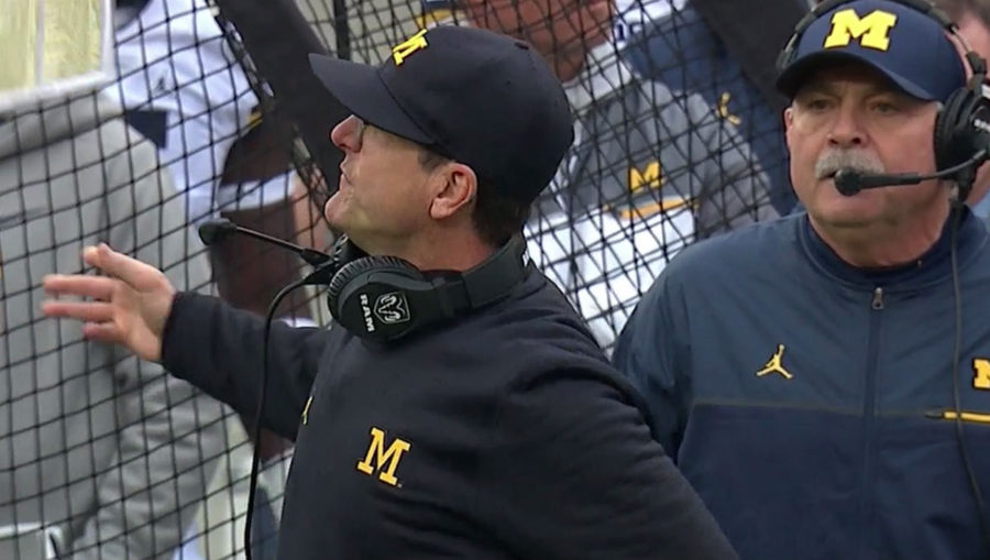 College Football Playoff Jim Harbaugh