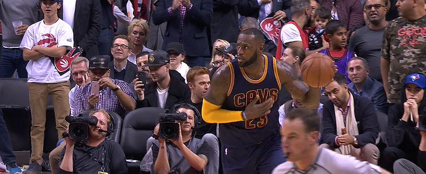 LeBron James NBA Scores