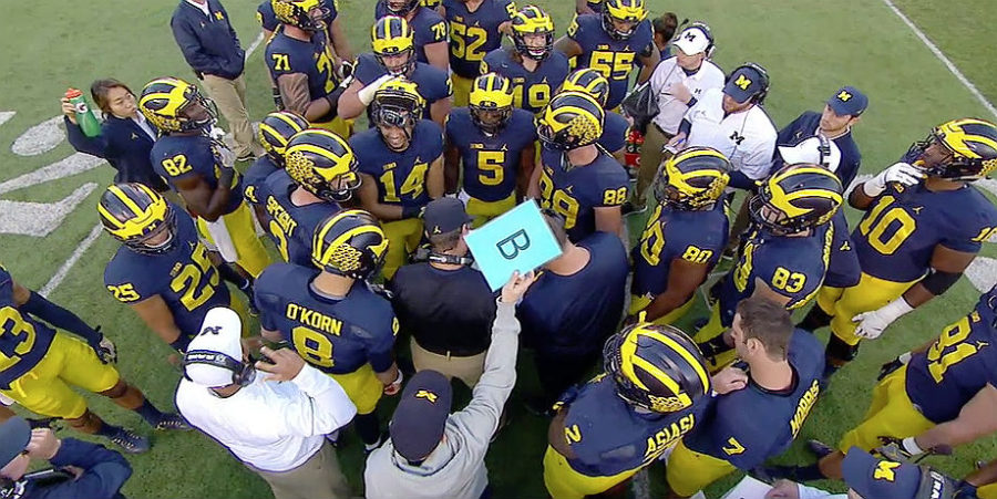 Michigan college football