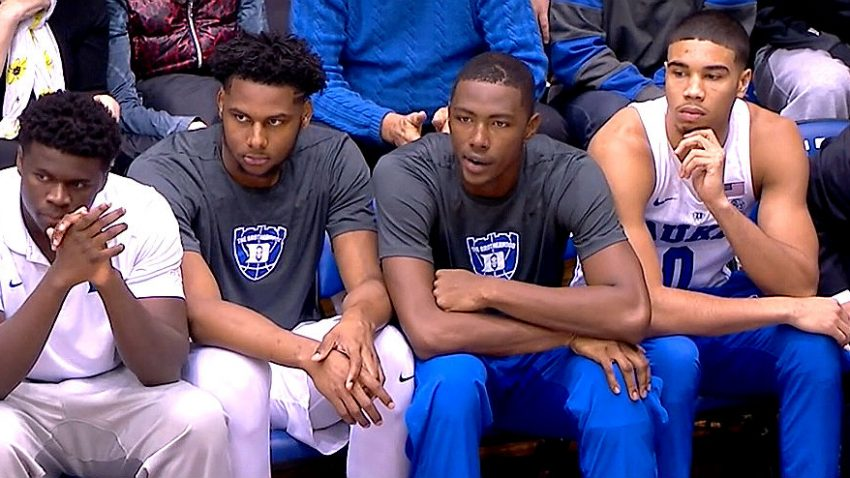 Harry Giles and Jayson Tatum